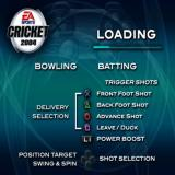 Cricket 2004 PlayStation 2 While the game loads it reminds the player what the buttons do