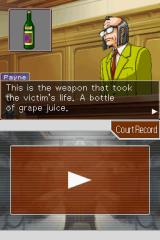 Apollo Justice: Ace Attorney Nintendo DS Prosecutor Payne is once again your opponent during the first case.