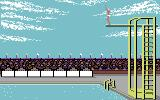 Summer Games Commodore 64 Platform diving
