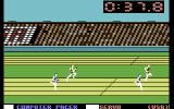 Summer Games Commodore 64 Running a race