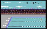 Summer Games Commodore 64 A swimming event