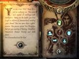 Joe Dever's Lone Wolf iPad Sum-up of your character before beginning your journey