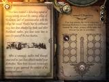 Joe Dever's Lone Wolf iPad Narration on the left, quest objectives on the right