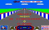 3D Stunt Rider Amstrad CPC Title Screen.