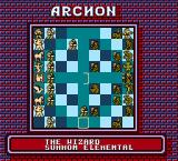 Archon: The Light and the Dark NES The board