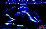 Airwolf 2 Amstrad CPC Loading Screen.