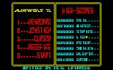 Airwolf 2 Amstrad CPC Title Screen.