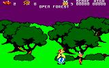 Asterix and the Magic Cauldron Amstrad CPC Out in the forest.
