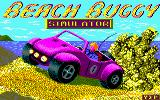 Beach Buggy Simulator Amstrad CPC Loading Screen.