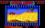 Beach Buggy Simulator Amstrad CPC Helicopter to shoot.