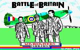 Battle of Britain Amstrad CPC Loading Screen.