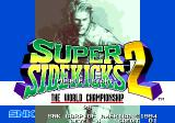 Super Sidekicks 2: The World Championship Arcade Title screen
