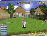 Kittens Windows This is the garden. Clicking on Stroke in the lower left turns the cursor into a hand which the player waves over the cat to make it happy, release hearts, and score points