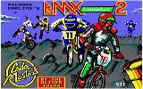 BMX Simulator 2 Amstrad CPC Loading Screen.