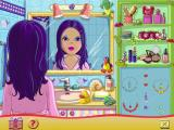 My Doll Windows The dressing up game. here the player selects different hair styles, lipstick, eye shadow and jewellery