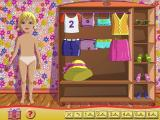 My Doll Windows An interactive dressing up game. There are six sets of clothes to choose from, selected via the clothes hangers at the bottom of the screen, and clothes are dragged and dropped onto the model