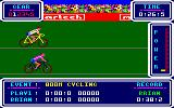 Brian Jacks Superstar Challenge Amstrad CPC 800m Cycle.