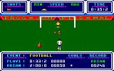 Brian Jacks Superstar Challenge Amstrad CPC Football.