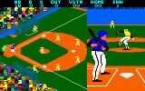 Championship Baseball Amstrad CPC Here comes the pitch.