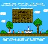 Baby Boomer NES Title screen