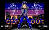 Cop-Out Amstrad CPC Loading Screen.