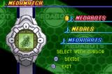 MedaBots: Metabee Game Boy Advance Your MedaWatch allows you to view all information about your MedaBot(s)