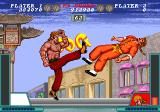 Solitary Fighter Arcade Strong kick