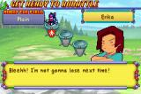 MedaBots: Metabee Game Boy Advance The defeat of your opponent.  In this case, it is your friend, Erika