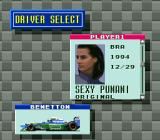 "Human Grand Prix III: F1 Triple Battle SNES New ""character"" was created."