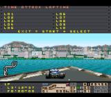Human Grand Prix III: F1 Triple Battle SNES Monaco GP. Actually she doesn't like racing at all. She prefers to contemplate the sea.