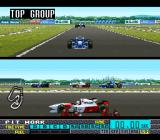 "Human Grand Prix IV: F1 Dream Battle SNES ""Top Group""."