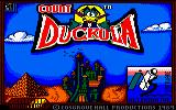 Count Duckula in No Sax Please - We're Egyptian Amstrad CPC Loading Screen.