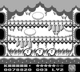 Kirby's Dream Land 2 Game Boy Kirby's signature dance