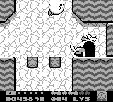 Kirby's Dream Land 2 Game Boy Later enemies can't be sucked in