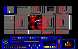 Death or Glory Amstrad CPC Part of the base destroyed.
