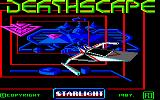 Deathscape Amstrad CPC Loading Screen.