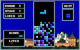 Tetris Sharp X1 The background picture doesn't seem to change in this version