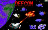 Defcom Amstrad CPC Loading Screen.