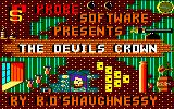 Devil's Crown Amstrad CPC Loading Screen.