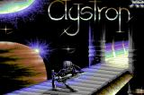 Clystron Commodore 64 title screen