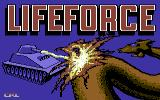 Lifeforce Commodore 64 Loading Screen.