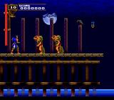 Castlevania: Rondo of Blood TurboGrafx CD Beautiful moon, weird water warriors jumping up to kill me... and then they ask me why I don't support Greenpeace