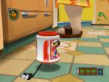 Chibi-Robo!: Plug into Adventure! GameCube What's better for stealthy action than covering yourself with a mug and sneaking past the lady of the house in the kitchen?