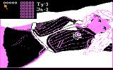 Miss Mind II: Ania Atari 8-bit Selecting the digits