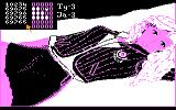 Miss Mind II: Ania Atari 8-bit Half full means wrong position, full icon means correct digit.