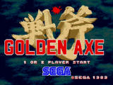 Golden Axe Windows Title screen
