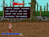 Golden Axe Windows Start of the game