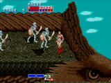 Golden Axe Windows Fighting on a giant eagle.