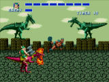 Golden Axe Windows Using the flame shot.