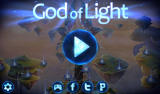 God of Light Android Main menu